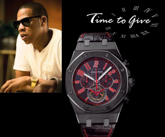 Jay-Z Signed Watch