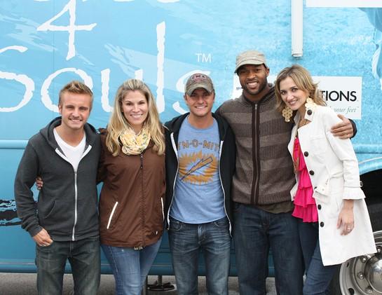 Josh Carter, Tiffany Johnson, Zach Carter, Chris Hope and Sarah Darling