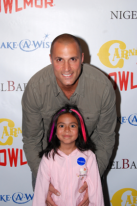 Nigel Barker and Make-A-Wish Friend