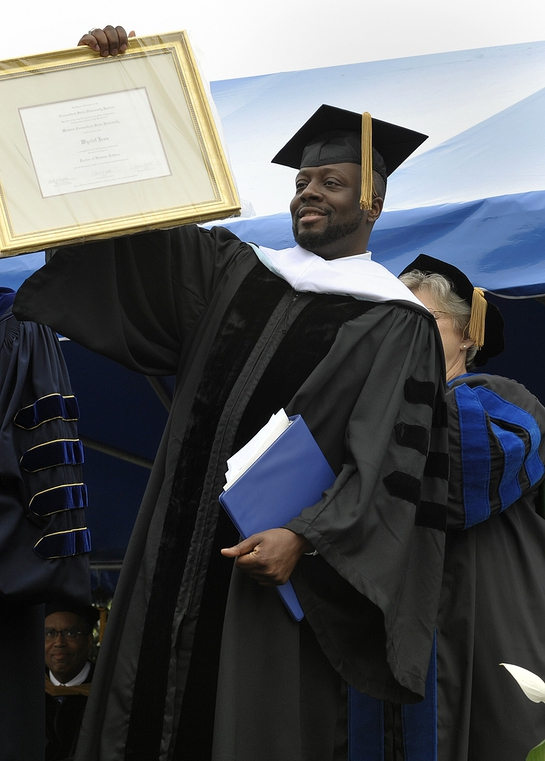 Wyclef Jeans Accepts Honorary Doctorate