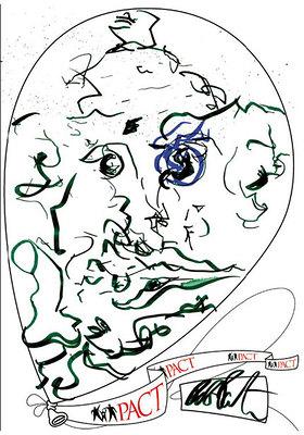 Robert Pattinson's Art Design