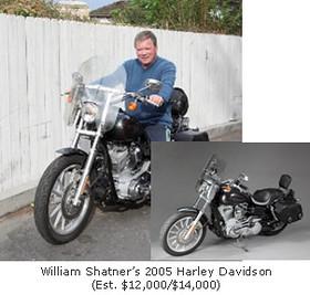 William Shatner's Harley