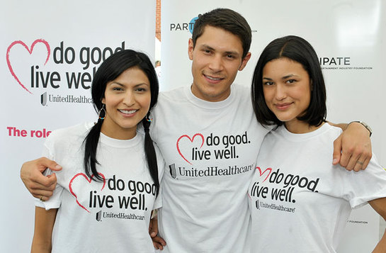 Julia Jones, Tinsel Korey, and Alex Meraz