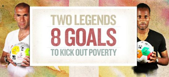Kick Out Poverty Banner
