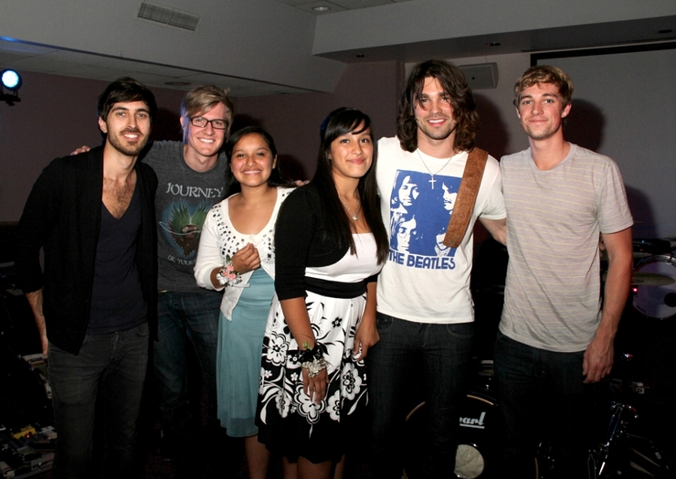 Justin Gaston Band and patients