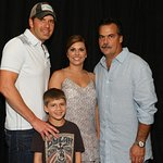 Rodney Atkins Meets Jeff Fisher At Charity Softball Game