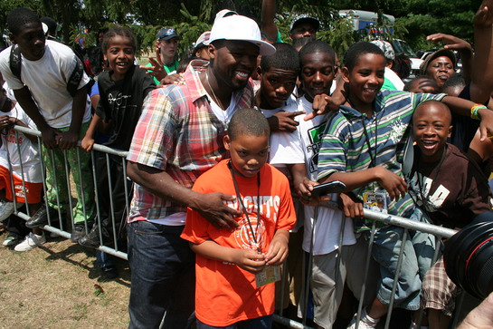 50 Cent with Children