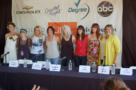 Sarah Mclachlan, Emmylou Harris, Brandi Carlile, Miranda Lambert and others