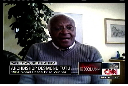 Desmond Tutu on CNN
