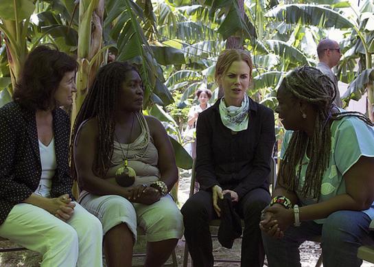 Nicole Kidman Visits Haiti