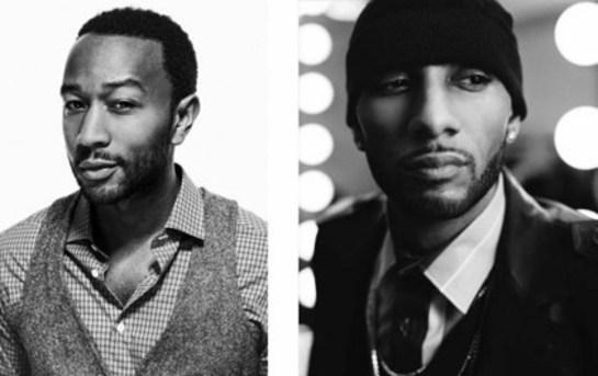 John Legend and Swizz Beatz