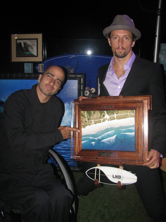 Jason Mraz and Jesse Billauer