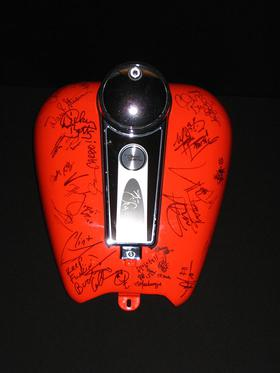 Celebrity Signed Harley