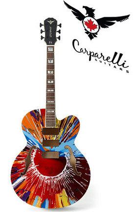 Damien Hirst Guitar