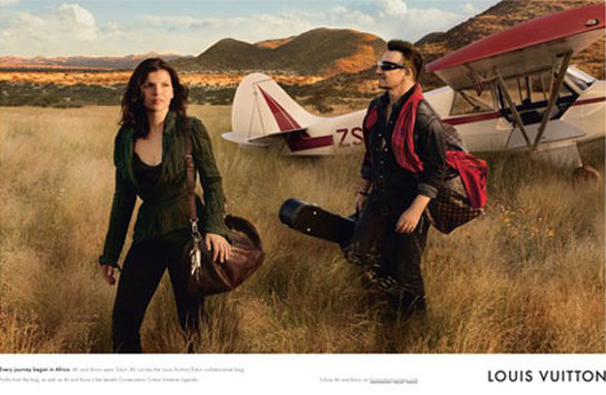 Bono and Ali Hewson, Core Values Campaign