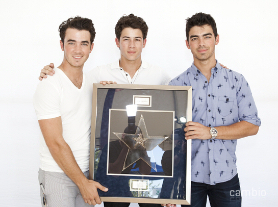 Jonas Brothers Honored for Wish Granting