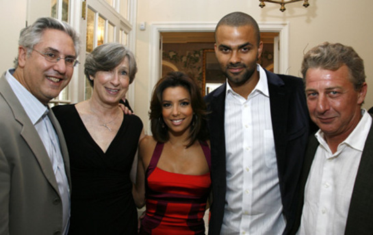 Eva Longoria and Tony Parker - The Harvest