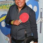 Stars Play Charity Ping Pong At PaddleJam