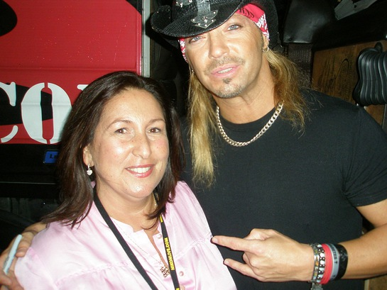 Bret Michaels and Aimee Holtzman, Rock CAN Roll