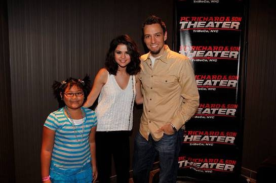 Trey Morgan and Selena Gomez and Make-A-Wish