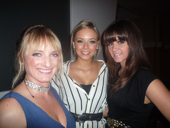 Nicola Wheeler Sacha Parkinson Brooke Vincent at the Blossom Appeal 10th Anniversary Gala Dinner