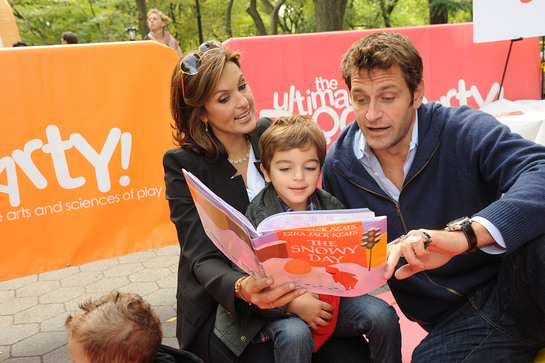 Mariska Hargitay at Jumpstart Block Party in Central Park