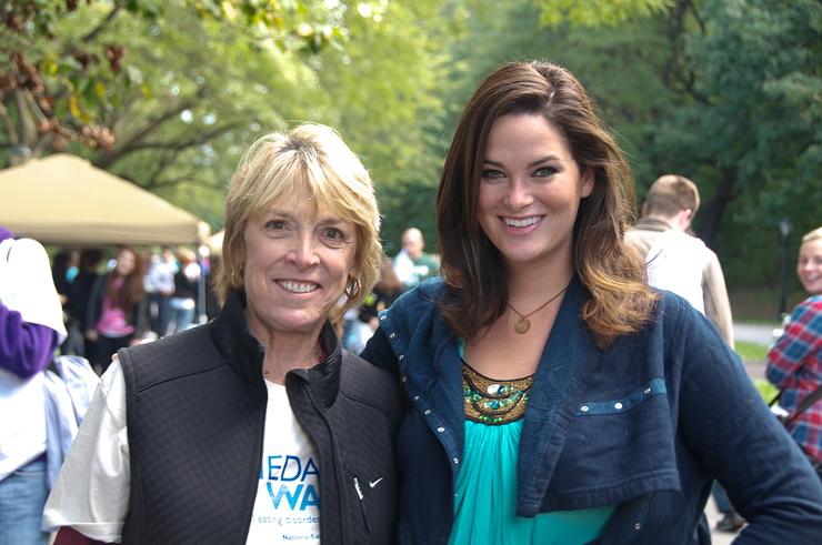 Whitney Thompson and NEDA CEO, Lynn Grefe