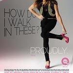 Fergie Supports FFANY Charity Shoe Sale On QVC