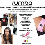 RumbaTime Launches Celebrity Charity Watch Auction