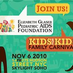 Hugh Jackman Supports Pediatric AIDS Family Carnival