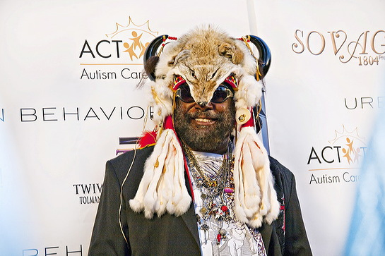 George Clinton at ACT Today! Gala