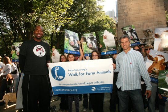 John Salley Walk For Farm Animals
