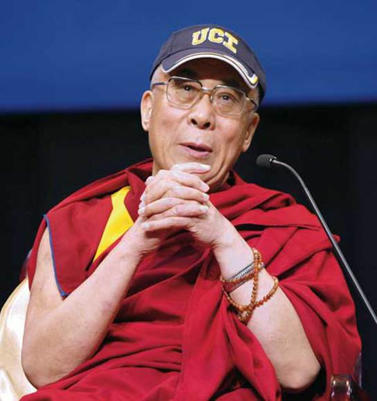 Dalai Lama to speak at Living Peace event