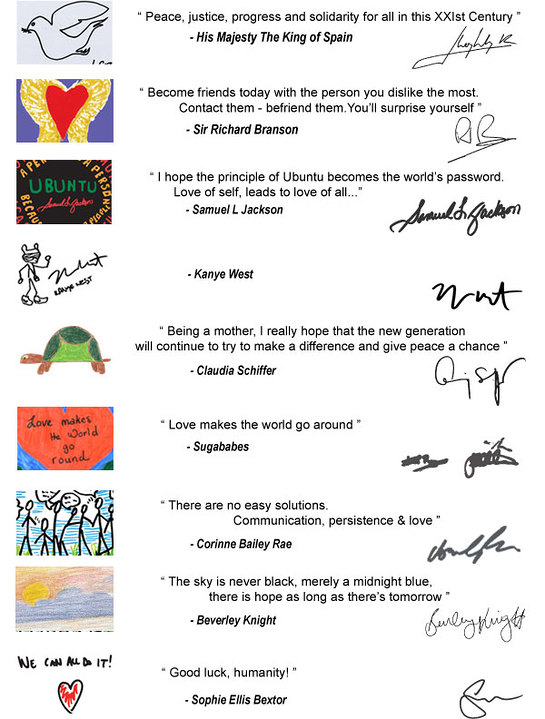 21st Century Leaders Signitures
