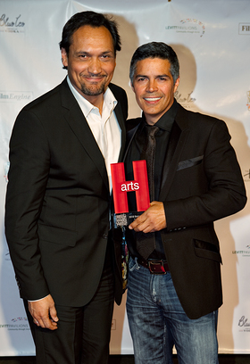 Jimmy Smits and Esai Morales