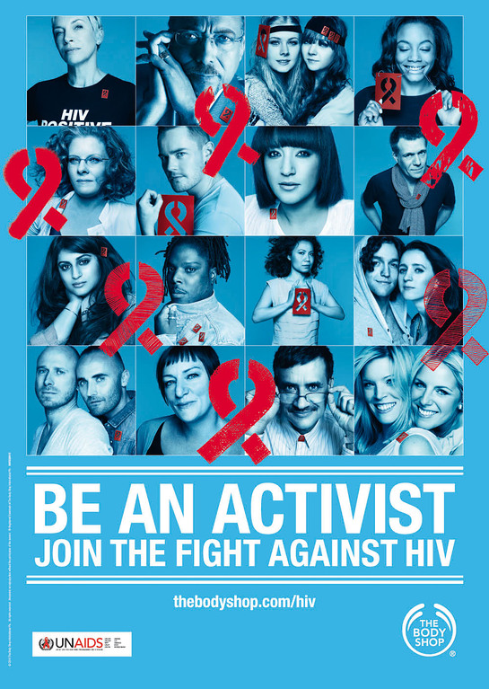 Body Shop - Be An Activist