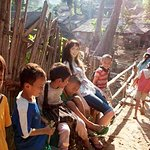 LTTS Photo Gallery: Lily Cole Visits Burmese Refugees