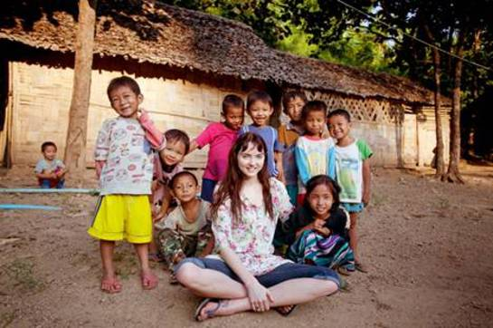 Lily Cole Christian Aid