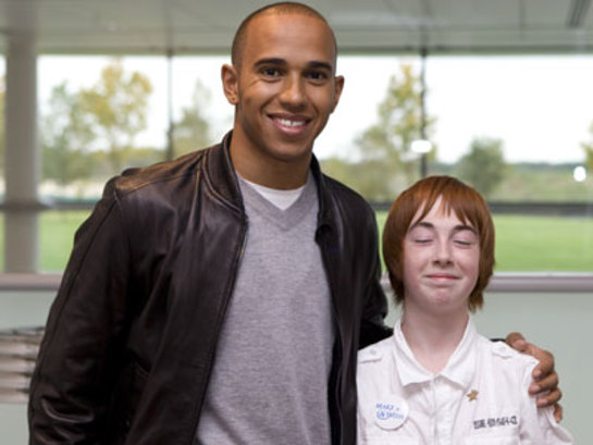 Lewis Hamilton and Callum