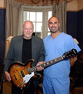 David Gilmour and Marc Abrahams for PUP AID