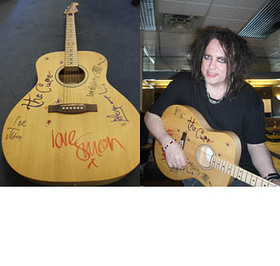 The Cure Amnesty International Guitar
