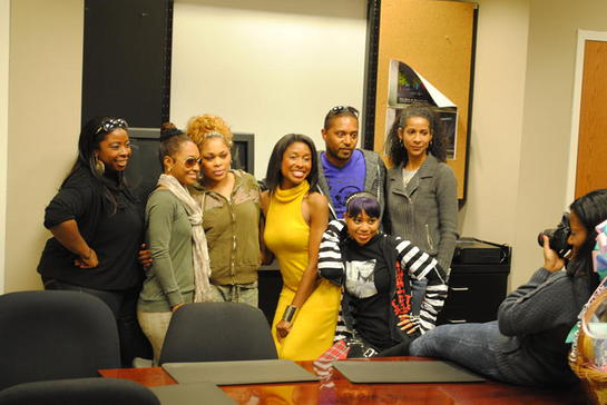 Anashay Wright, Executive Director of LLF, Chilli, T-Boz, Kortni Boyd, Monique Rivarde, Reigndrop Lopes