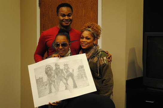 Painter Andre Harris, T-Boz, Chilli