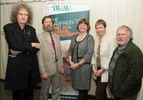 Brian May, Bill Oddie and BUAV