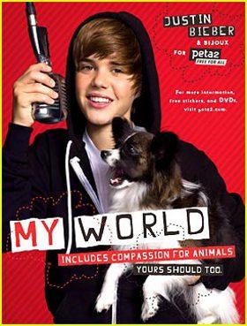Justin Bieber PETA
