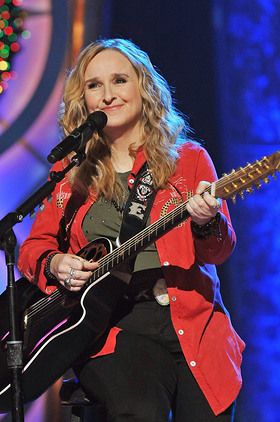 Melissa Etheridge performs at adoption special