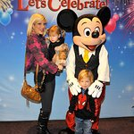 Tori Spelling Joins Stars At Disney On Ice For Charity