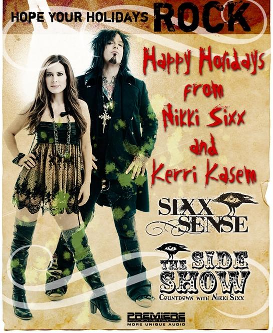 Nikki Sixx Christmas