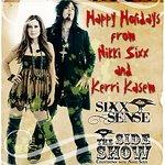 Nikki Sixx Rocks Christmas Cheer For Sick Kids