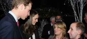 Prince William and Kate Middleton, Teenage Cancer Trust event